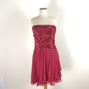 BCBG Max Sleeveless formal red dress Sz 12